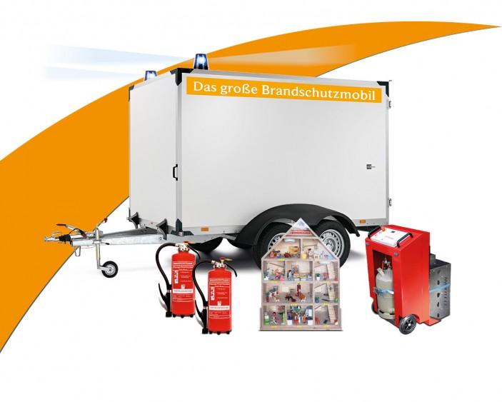 Brandschutzmobil Anhänger