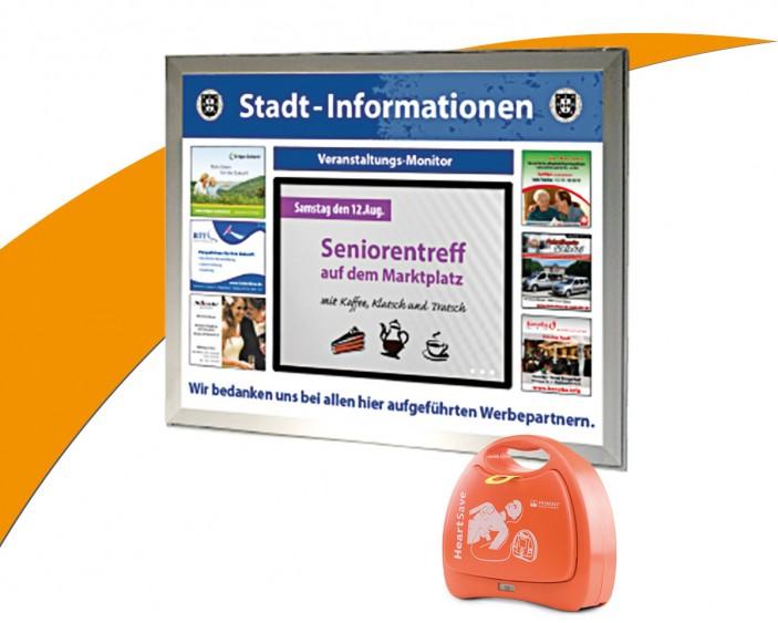 Digitaler Infokasten